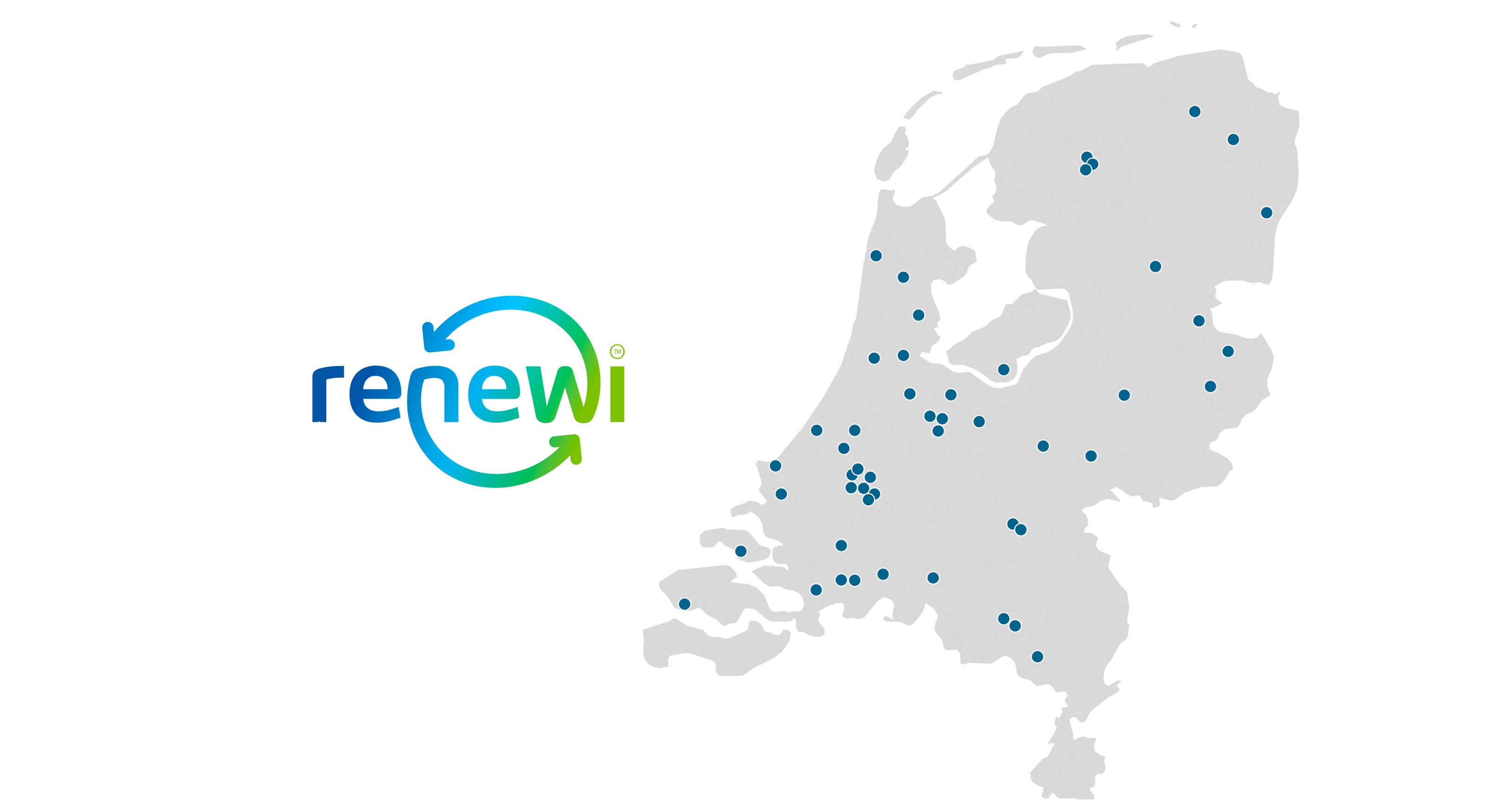 Renewi vestigingen Nederland