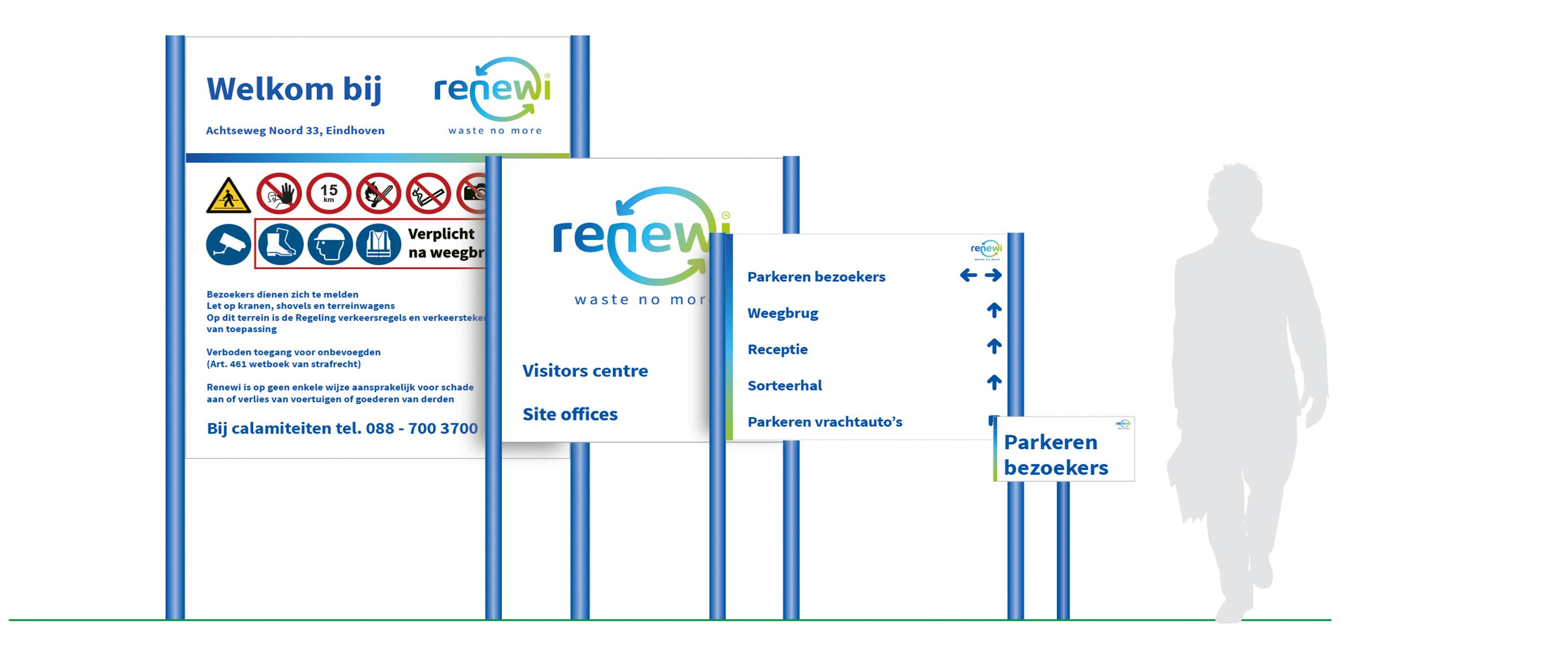 Bewegwijzering Renewi